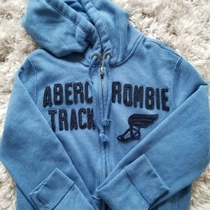 Abercrombie & Fitch | Mens Blue Sweater Zip Up